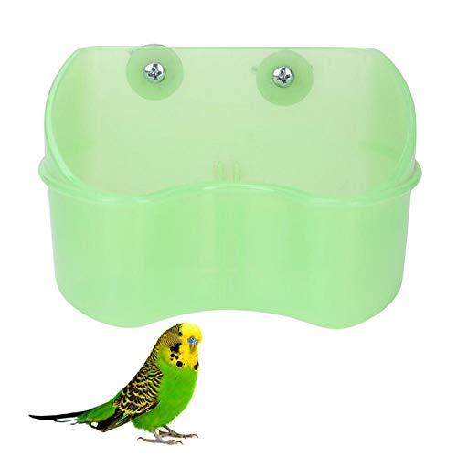 SALUTUYA Einfach zu installierende montierbare Zuführung für kleine Haustiere zur Aufnahme von Futter oder Wasser