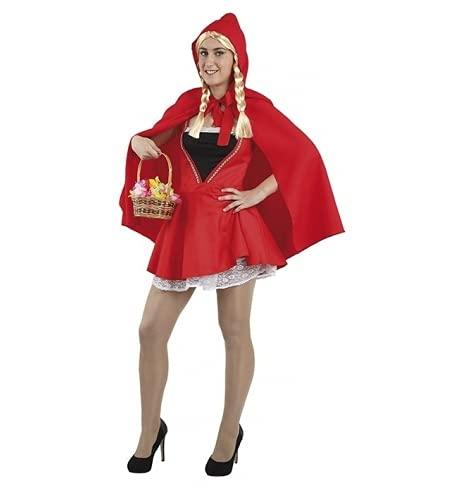 Fiesta y Carnaval, S.L.. DISFRAZ CAPERUCITA SEXY - Talla 42 ¦ M Mujer