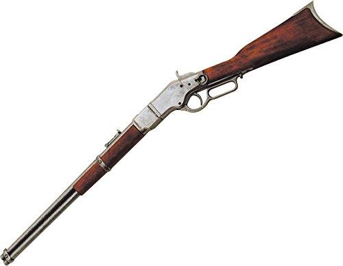 Denix Erwachsene Winchester Gewehrhebel unter Schutz 1886 Gefälschte Waffenreplik, schwarz, One Size