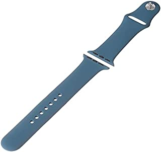 Watch Sport Silicone Band for Smart Watches, 38/40 mm - Steel Blue