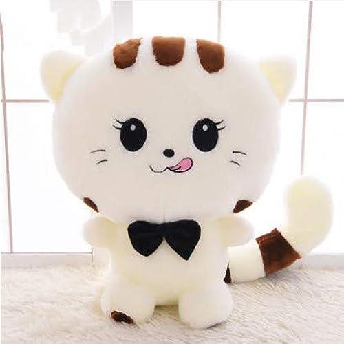 buen precio XXCKA Lengua blancoa Lindo Gato muñeca de Peluche de Juguete Juguete Juguete muñeca súper Lindo Dormir Almohada muñeca Regalo de cumpleaños 130 cm  el más barato