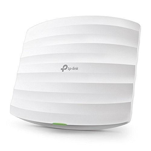 TP-Link Omada AC1750 Gigabit Ceiling Mount Wireless Access Point | MU-MIMO, Seamless Roaming & Beamforming | PoE Powered w/ PoE Injector included | Centralized Cloud Access & Free Omada app (EAP245)