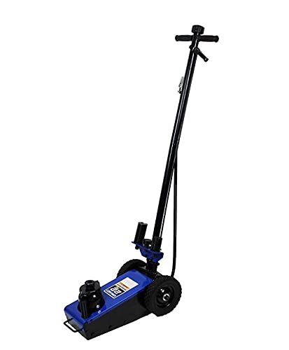 K Tool International 22 Ton Blue Air Hydraulic...