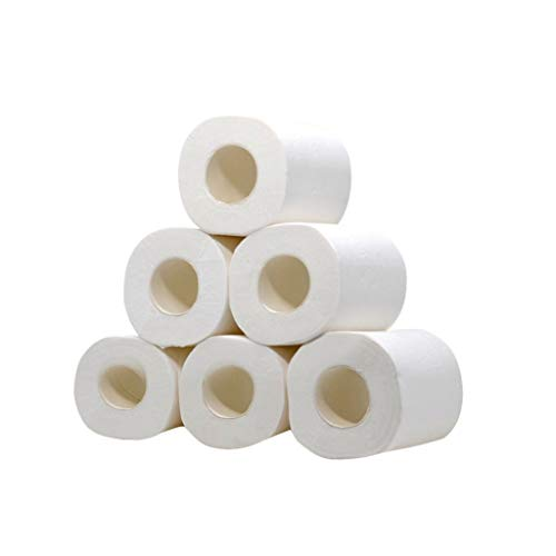 Buy Cheap HIRIRI 6/8/12pcs Home Toilet Paper Hollow Replacement Roll Paper Print Interesting Table K...