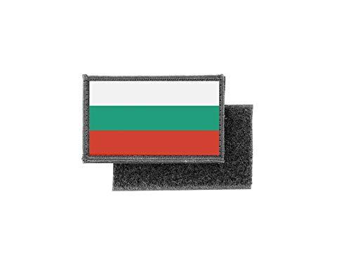 Aufnäher patch aufbügler gedruckt flagge fahne bulgarien