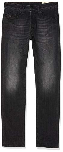 Diesel Herren Buster, Straight Jeans, Grau (Gris 087am), 44 (Herstellergröße: 29)