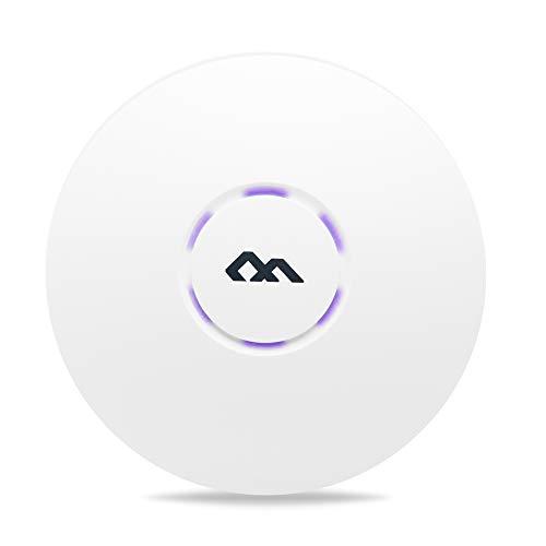 SEJESS Wireless Access Point Router WiFi Senza Fili Bridge AP ripetitore WiFi Copertura 300 mq Chip qualcomm multiutente velocità 300 mbps Installazione a Parete o soffitto Certificato CE FCC ISO9001