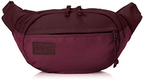 JanSport Mono Fifth Avenue Waistpack - Travel Fanny Pack Hip Bag, Dried Fig