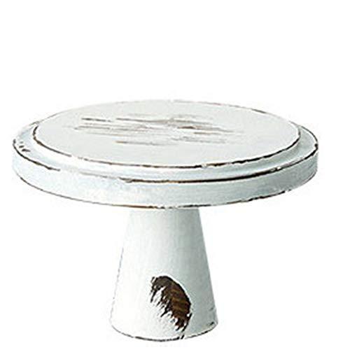 Eitelkeitsablage Tortenständer Holztablett Platte Verzierungen for Serving Kuchen Biscuits Getränke Handtuch Tabletts Dekorative Kosmetik Schmuck Platte für denktop. ( Color : White , Size : 22x15cm )