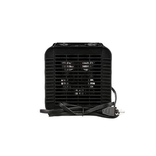 Caframo Calefactor de cerámica Hotshot, ajustes de Calor Alto/bajo, hasta 1500 vatios y 5100 BTU/Hora, Negro, 1 Unidad