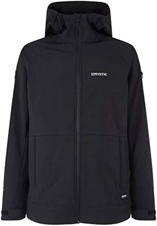 Mystic WatersportsSurf KiteSurf & Windsurfing Mens Mission Softshell Coat Jacket Caviar3-layer soft shell, 4-way