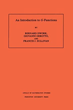 An Introduction to G-Functions