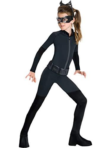 Rubie 's Girl 's Offizielles DC Comics Batman Catwoman Kostüm–Medium 5–7Jahre, Schwarz