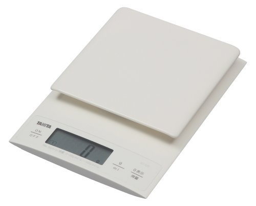 TANITA@Digital cooking scale@yAlso useful for making bread@0.1g unit@High accuracy@Weighing up to@3kgz@White@KD-320-WH