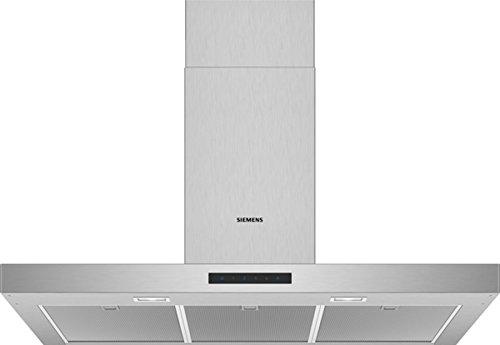 Siemens LC96BBM50 Dunstabzugshaube/Wandhaube / 90 cm/Metall-Fettfilter/Elektronische Steuerung/Edelstahl