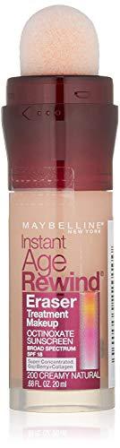 Maybelline Instant Age Rewind Eraser Foundation - Creamy Natural - 2 Pack
