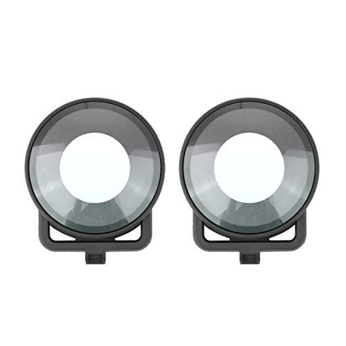 Tapa Protectora de la Lente para Insta360 One R Mod Dual Lens Panoramic 360 Edition Camera Dual Glass Lens Protectors Accesorios Paperllong®
