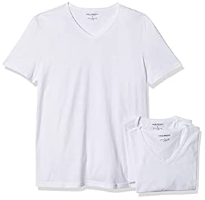 Emporio Armani Men's Cotton V-Neck U...