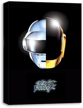 Quadro Canvas para Sala - Daft Punk