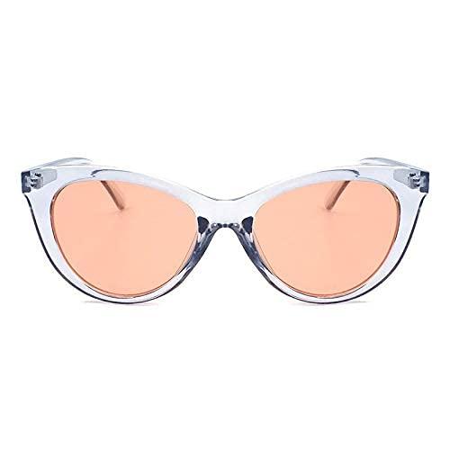 XJYJF Gafas de sol de moda con protección UV, gafas de sol coloridas de marco pequeño, accesorios de gafas de sol de ojo de gato (color: B)