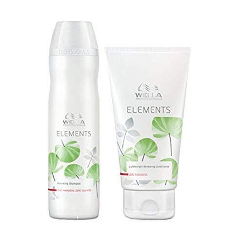 Wella Elements Shampoo 250ml & Conditioner 200ml set WELLA ELEMENTS by Wella