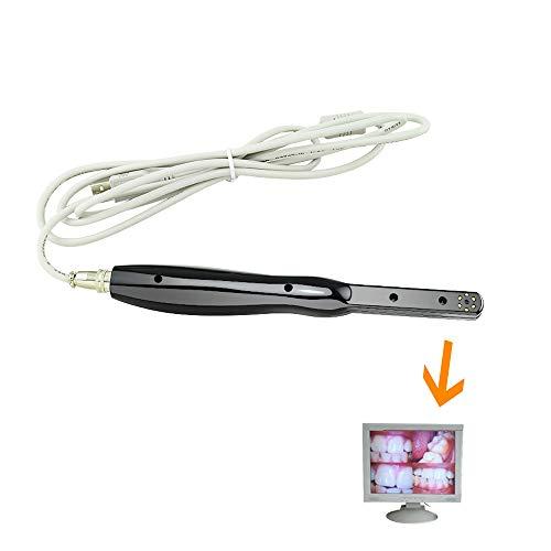 Denshine Dental Camera, HD USB 2.0 Camera 6 Mega Pixels 6-LED Clear Image with Imaging Software