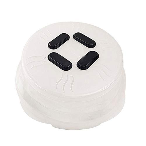 ZHIXX MALL Mikrowellen-Ofen-Abdeckung, faltbar, starker Magnet, spritzwassergeschützte Abdeckung