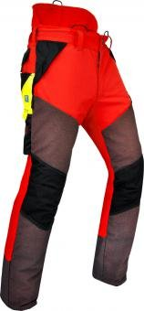 Pfanner Gladiator Extreme Chainsaw Protection Pants - 2X-Large Red
