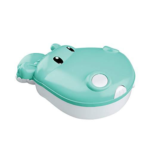 Angelspiele Spielzeug für Kinder - 4 in 1 Hippo Electric Magnetic Angelspielzeug Set, Lernspielzeug, Kinder Festival Geschenke (blau)'