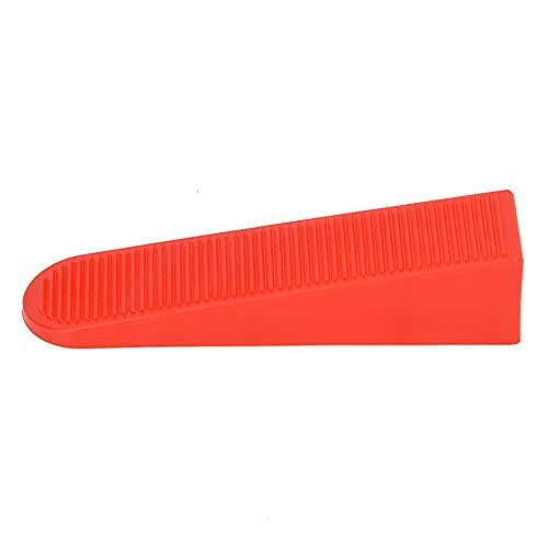 Cuñas de nivelación de baldosas rápidas, kit de nivelación roja Kit de nivel de azulejo Tile Speed Speed 85 x 20 x 19 mm