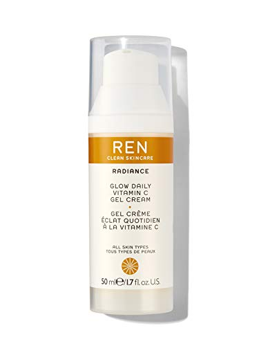 Face by REN Clean Skincare Radiance Glow Daily Vitamin C Gel-Cream / 1.7 fl.oz. 50ml