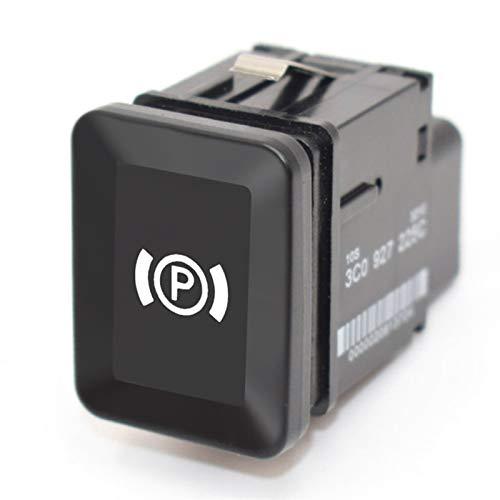 Estilismo de automóviles y accesorios corporales Interruptor de aparcamiento universal del automóvil EPB Electronic Handbrake Aparcamiento Botón de freno de freno Reemplazo para VW VOLKSWAGEN PASSAT B