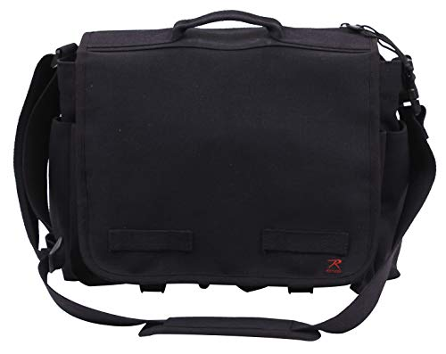 Rothco Concealed Carry Messenger Bag, Black