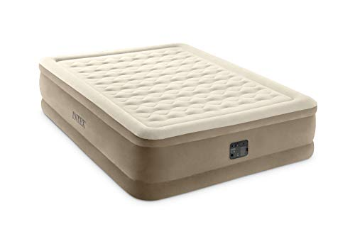 Intex 64428NP Luftbett Ultra Plush Bed Queen 230 V, Beige