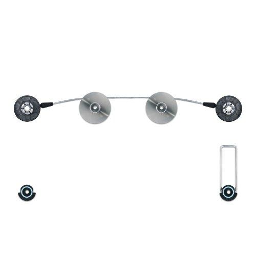 ESMART Universal TV Wandhalterung für • LCD • Plasma TV | 76 cm - 139 cm | 30-55 Zoll | Vesa Norm 600 x 200 bis 600 x 400 | Ultra flach | Schwarz