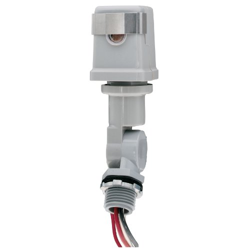 Intermatic K4221C 120-Volt Stem and Swivel Mount Thermal Photocontrol, Gray