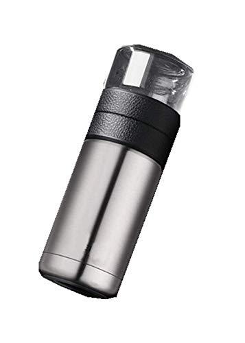 siyao Thermoskanne Thermosflasche Edelstahl Teesieb Partition Thermotasse Glas TeesiebIsolierflascheFlaschen 400Ml + 200Ml600Ml Splitter