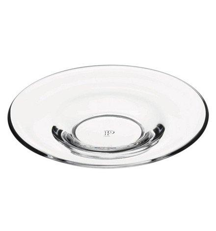 Pasabahce 54281 Aida Untertassen passend für Teegläser 55411, Glas, transparent, 6 Stück