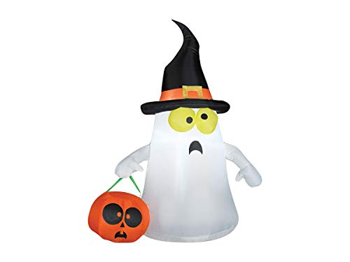 Gemmy 63975X EMW9267923 Inflatable Ghost, Standard, White
