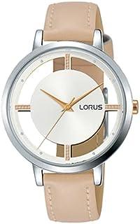 ساعة بسوار جلدي للنساء من لورس، موديل RG291PX9