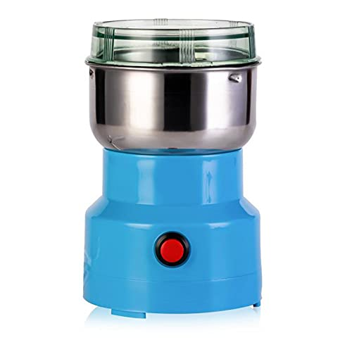 YUAKUOD Coffee Bean Grinder, Spice Grinder, Stainless Steel ortable Household Pepper Seasoning Coffee Crusher Multifunctional Kitchen Gadgets