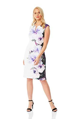 Roman Originals Vestido de buceo para mujer con diseño floral, para noche,...