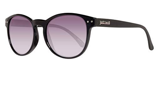 Just Cavalli Sonnenbrille JC489S 5301B Gafas de Sol, Negro (Schwarz), 53 para Mujer