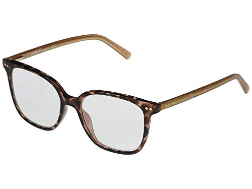 Kate Spade New York Rosalie Blue Light Reading Glasses Dark Havana +1.50