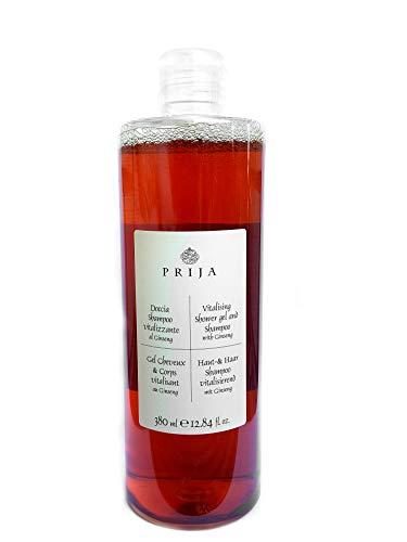 Prija Haut & Haarshampoo mit Ginseng 380 ml Duschgel Hair & Body