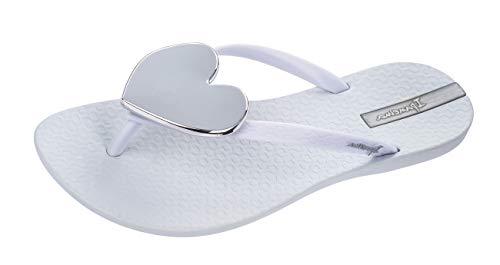 Ipanema - infradito da donna Wave Heart, colore: beige/nero, (Bianco 20098), 35 EU