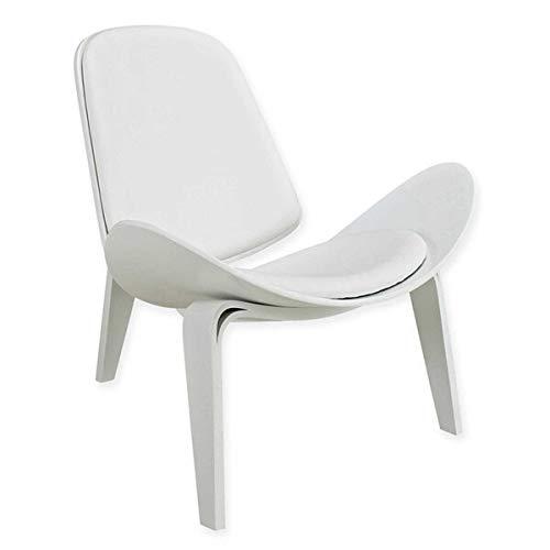 Decoración hogareña Hans WeGner Style Silla de cáscara de tres patas de la silla de la ceniza de