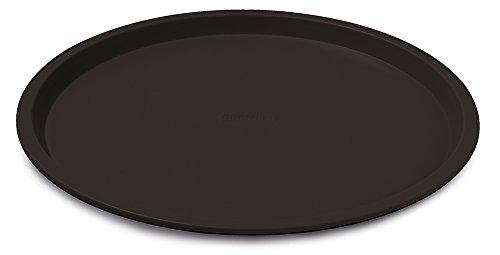 Guardini Gardenia, Plaque à pizza 32cm, acier avec revêtement anti-adhérent, couleur noire