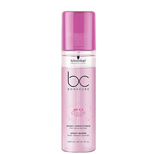 Schwarzkopf Professional BONACURE ph 4.5 Color Freeze Spray Conditioner, 200 ml