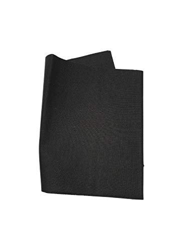 SALDASTRAPPI Termoadesivo MARBET 40 x 15cm cotone copri strappi buco nero rammendare rinforzo rammendo